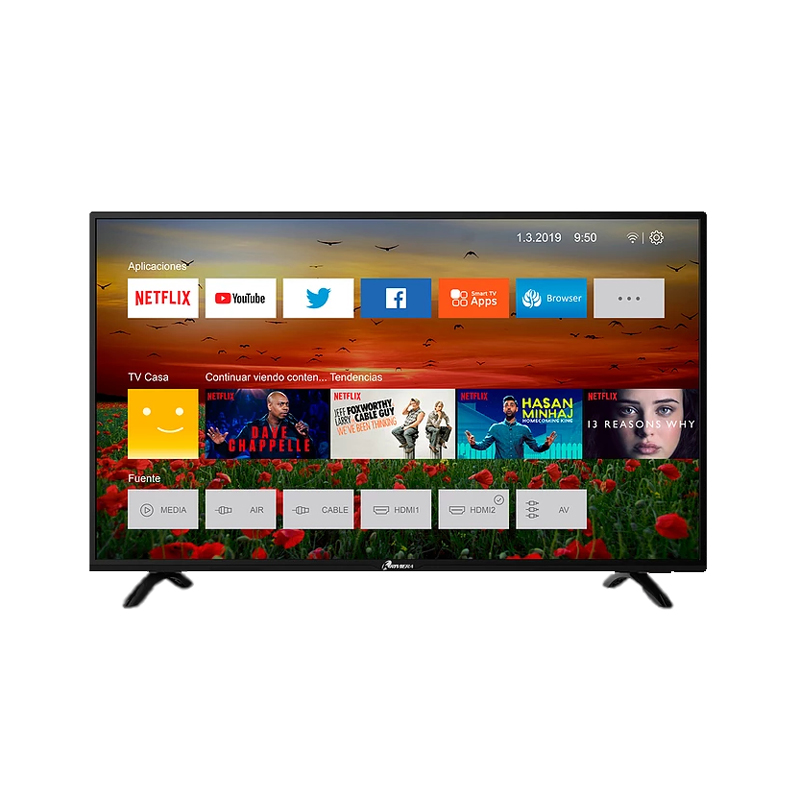 "TELEVISOR RIVIERA 50"" SMART TV LED"